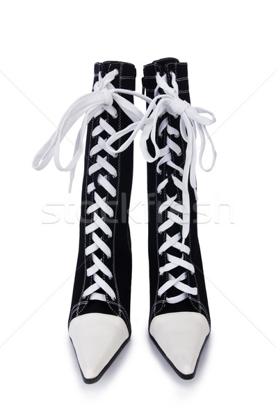 Topboots isolated on the white Stock photo © Elnur