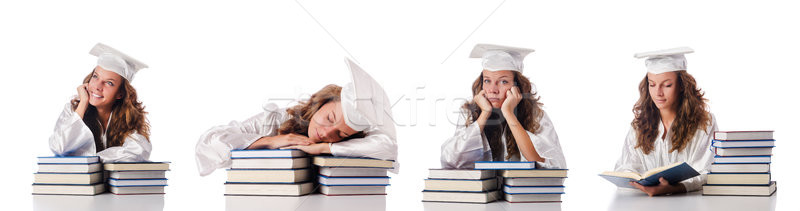 Young student isolated on white Stock photo © Elnur