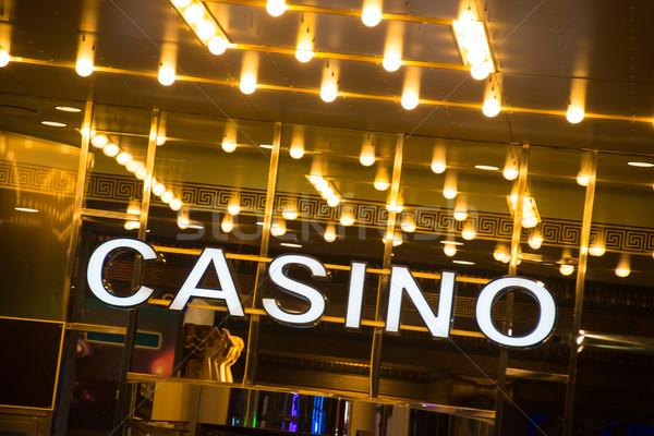 казино вход вечер время вечеринка фон Сток-фото © Elnur