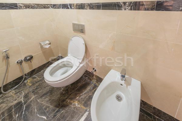 Toilettes modernes design d'intérieur design maison hôtel Photo stock © Elnur