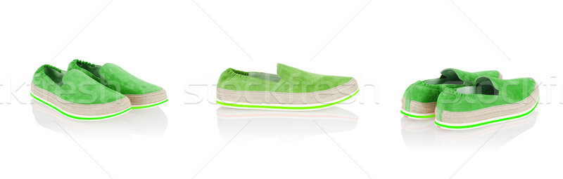 Sport shoes isolated on the white Stock photo © Elnur