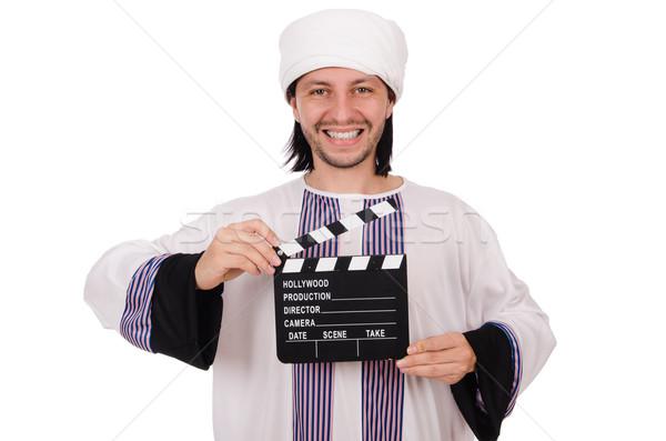 阿拉伯 男子 多樣 業務 快樂 工作 商業照片 © Elnur