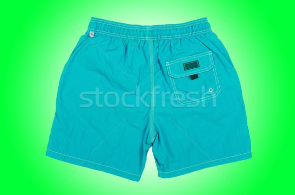 Mannelijke shorts geïsoleerd witte man sport Stockfoto © Elnur