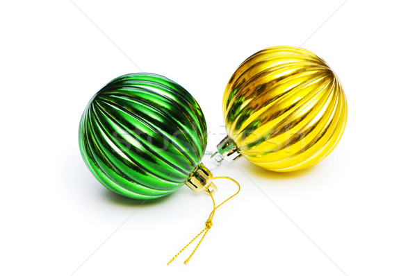 Christmas decorations in festive holiday concept Stock photo © Elnur