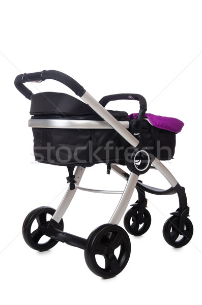 Child pram isolated on the white background Stock photo © Elnur