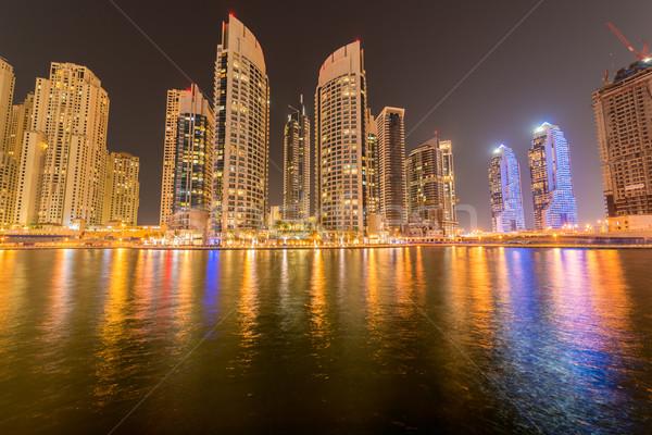 10 2015 marina distrito popular residencial Foto stock © Elnur