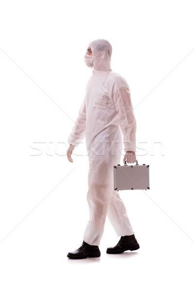 öltöny acél tok orvos orvosi háttér Stock fotó © Elnur