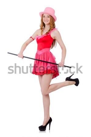 Zdjęcia stock: Kobieta · marynarz · morskich · uśmiech · moda · lata