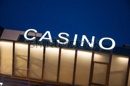 Casino entrada tiempo fiesta fondo Foto stock © Elnur