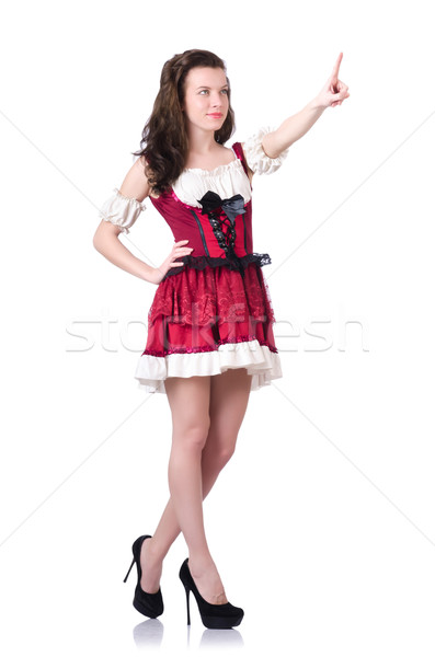 Young woman in traditional german costume Stock photo © Elnur