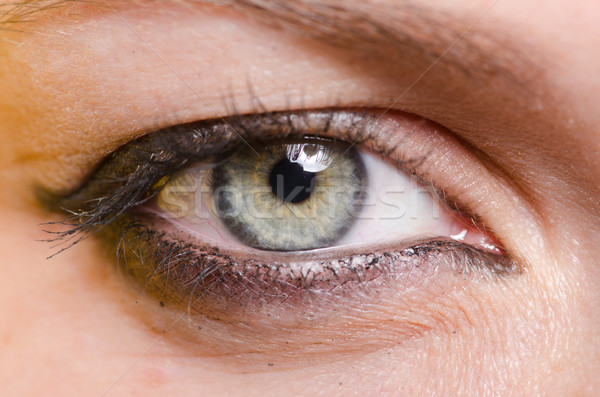 Close up of woman eye Stock photo © Elnur