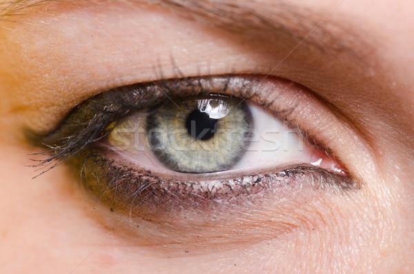 Donna occhi moda salute ritratto Foto d'archivio © Elnur