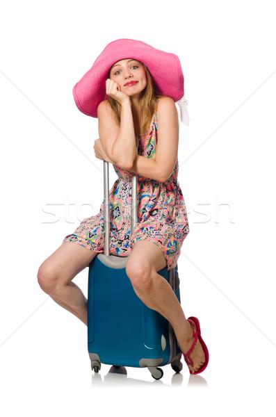 женщину белый девушки счастливым моде Сток-фото © Elnur