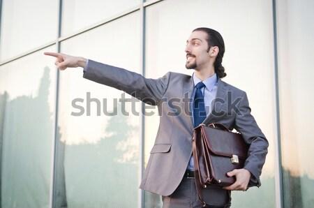 бизнесмен подвесной банкротство костюм смерти работник Сток-фото © Elnur