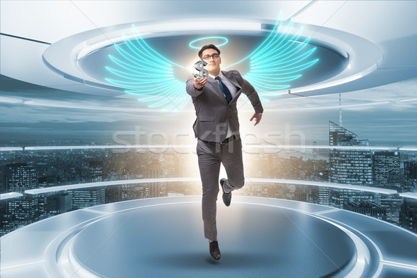 天使 投資家 ビジネスマン 翼 お金 インターネット ストックフォト © Elnur