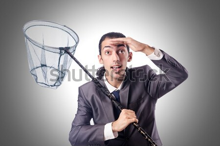 бизнесмен мышления самоубийства белый бизнеса стороны Сток-фото © Elnur