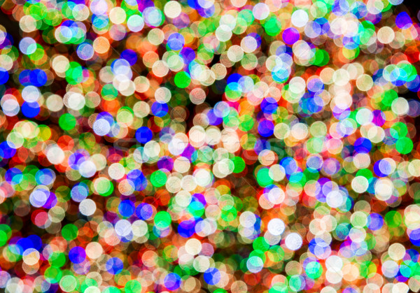 Blurred colourful lights at the background Stock photo © Elnur