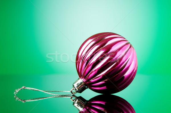 Natale decorazioni vacanze sfondo spazio Foto d'archivio © Elnur
