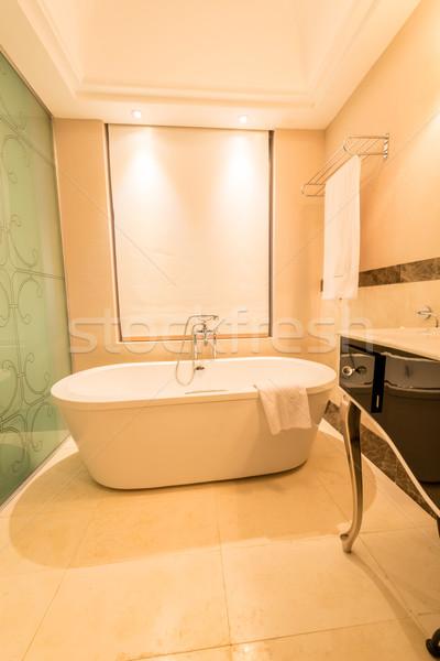современных ванную интерьер ванна воды здоровья Сток-фото © Elnur