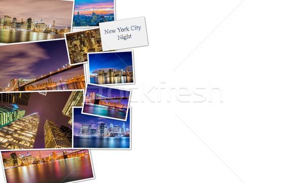The collage of new york photos Stock photo © Elnur