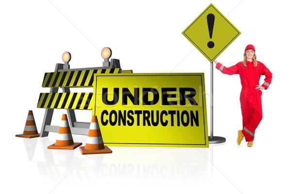 Сток-фото: строительство · интернет · работу · безопасности · службе