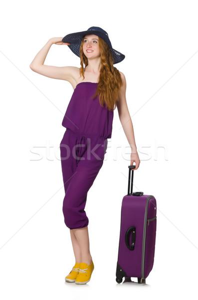 若い女性 夏休み 少女 幸せ ファッション 背景 ストックフォト © Elnur