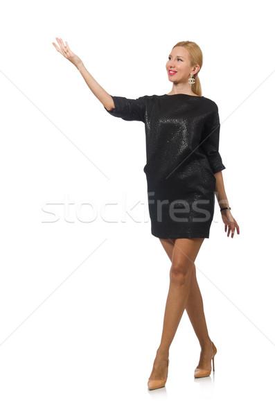 Donna moda isolato bianco ragazza mani Foto d'archivio © Elnur