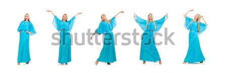 Moda alto modelo blanco nina baile Foto stock © Elnur
