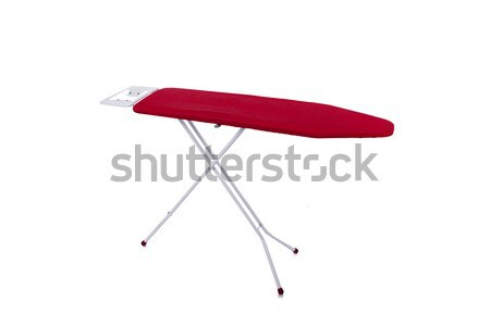 Red ironing board isolated on white background Stock photo © Elnur