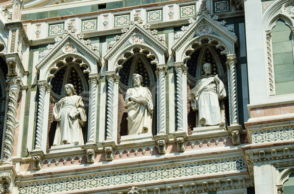 Elements  architecture of cathedral in Florence Stock photo © Elnur