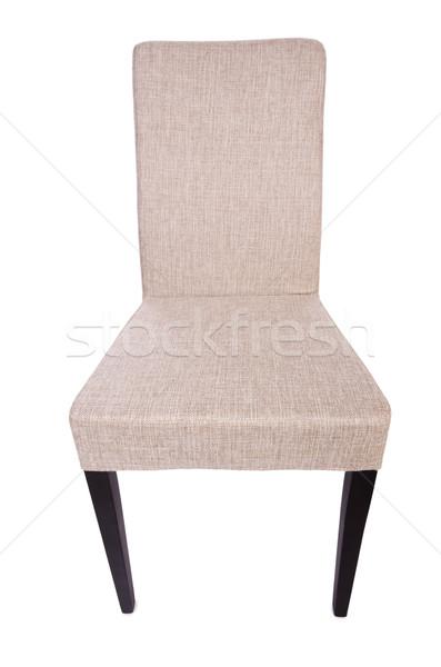 Salle à manger président isolé blanche bureau meubles Photo stock © Elnur