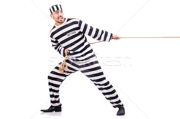 Penale strisce uniforme guerra legge Foto d'archivio © Elnur
