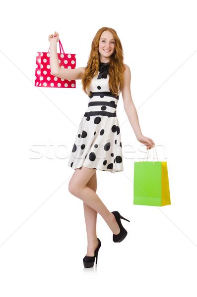 Młoda kobieta biały kobieta szczęśliwy moda Zdjęcia stock © Elnur