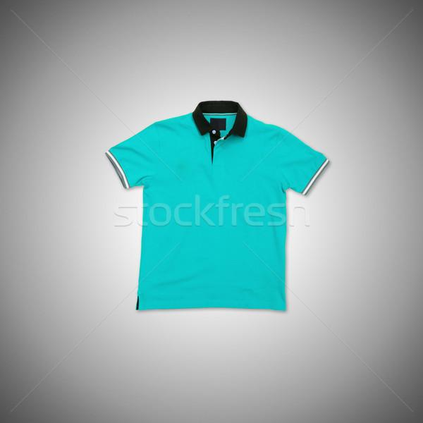 Homme tshirt isolé blanche Shopping t-shirt Photo stock © Elnur
