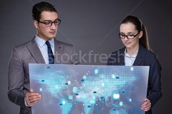 Pessoas de negócios discutir negócio computador homem Foto stock © Elnur