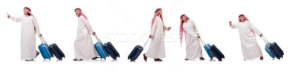 арабских человека Камера белый бизнеса фон Сток-фото © Elnur