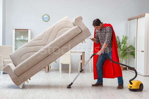 чистого рабочих домой человека работу Сток-фото © Elnur