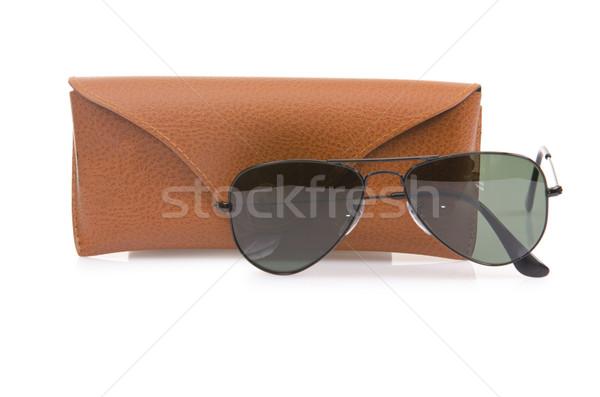 Elegáns napszemüveg izolált fehér tengerpart sport Stock fotó © Elnur