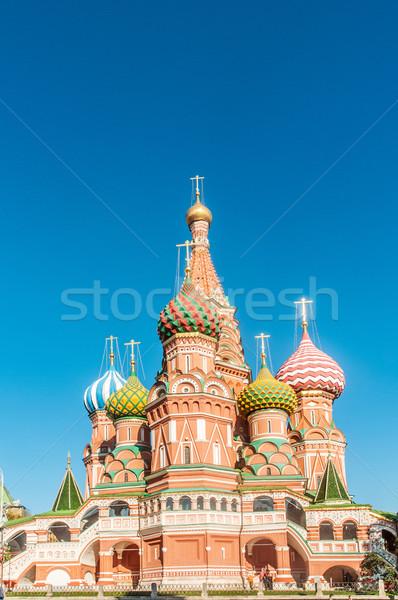 известный собора Москва город крест синий Сток-фото © Elnur
