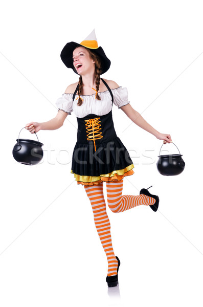 German girl in traditional festival clothing Stock photo © Elnur