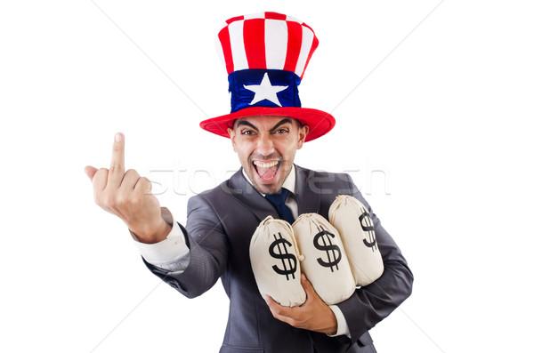 человека доллара бизнеса счастливым работу Сток-фото © Elnur