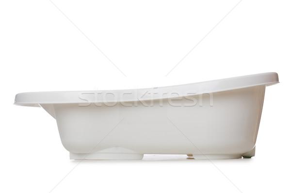 Klein kuip geïsoleerd witte water baby Stockfoto © Elnur