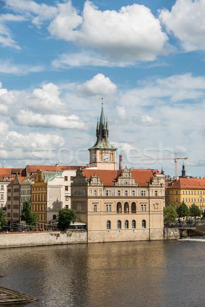 мнение Прага ярко день небе город Сток-фото © Elnur