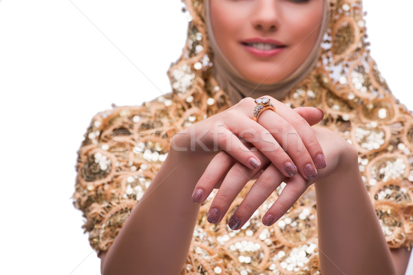 手 ジュエリー リング ファッション 女性 美 ストックフォト © Elnur