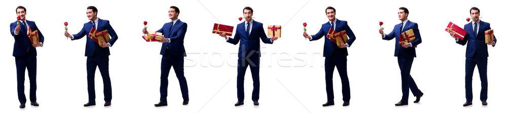 романтические человека брак предложение женщину Сток-фото © Elnur
