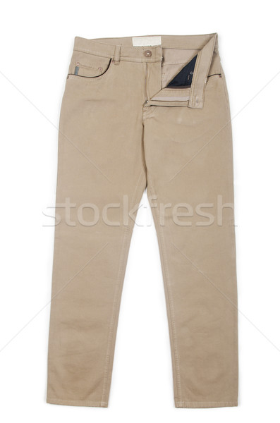Trousers isolated on the white Stock photo © Elnur