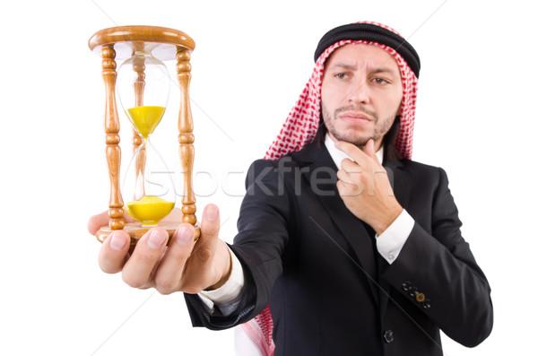 арабских человека мышления проход время часы Сток-фото © Elnur