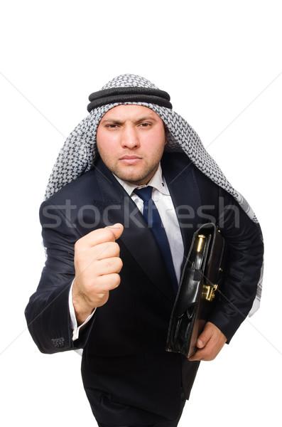 Arab businessman isolated on white Stock photo © Elnur