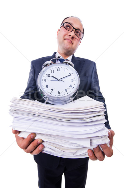 Man not meeting his deadlines Stock photo © Elnur