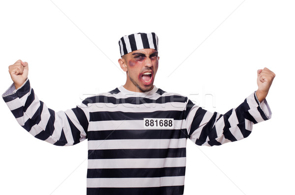 Prisioneiro ruim branco cara lei polícia Foto stock © Elnur